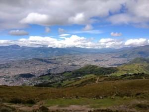 11Aussicht auf Quito