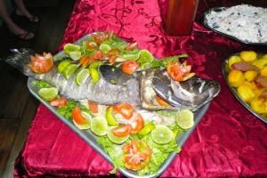 43 Fischbuffet