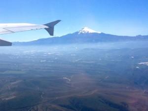 44 Flug nach Quito