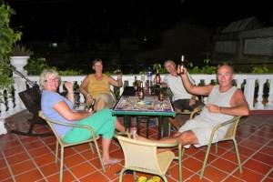 56 Dachterrasse mit Margriet&Didier