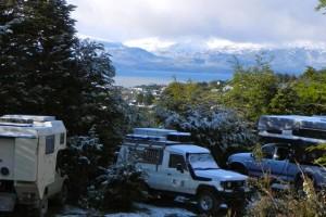 13 verschneites Ushuaia