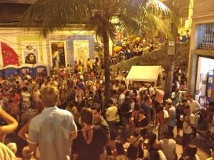 29 Strassenparty in Rio