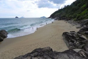 7 Strand bei Boicucanga