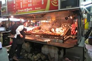 Asado im Markt