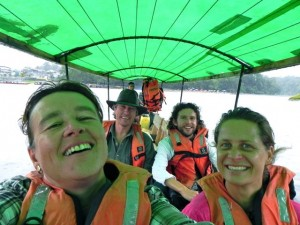 mit Susann&Claudio auf Bootstour