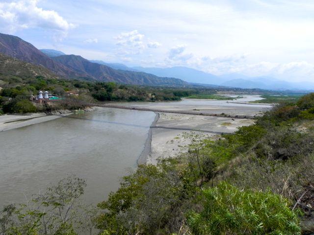 Hängebrücke am Cauca