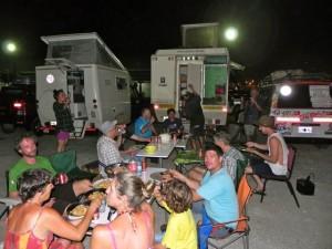 Spaghetti-Festival im Colon-Hafen