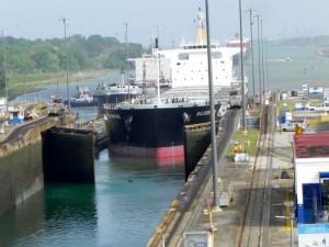 Einfahrt Panamakanal