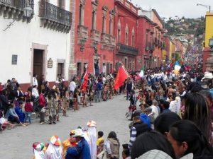San Miguel de Allende Umzug