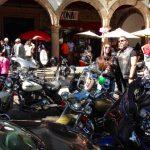 Motorradtreff auf der Plaza