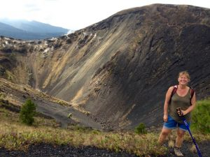 am Vulkankrater