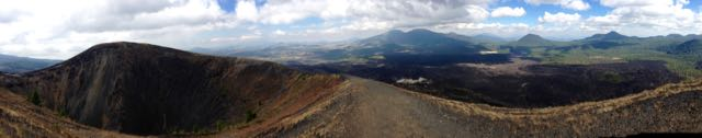 Aussicht vom Vulkan