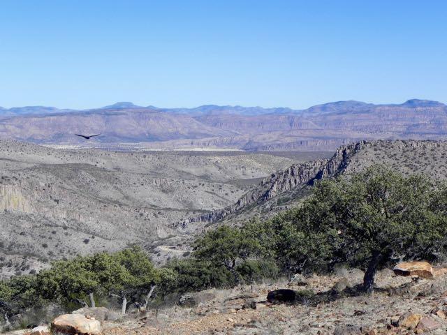 Gebirgslandschaft bei Hidalgo del Parral