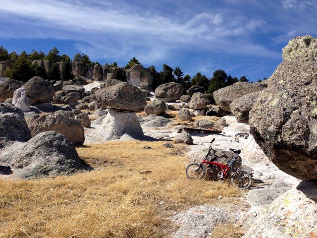 Radtour bei Creel