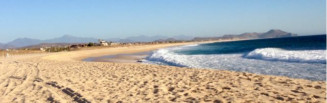 Strand bei Todos Santos