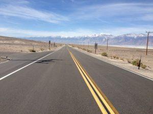der Sierra Nevada entgegen