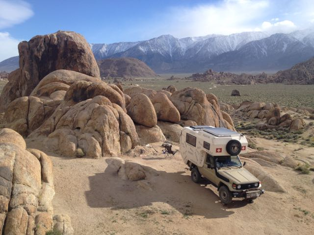 in den Alabama Hills