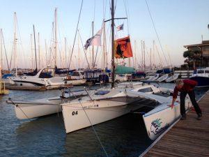 das Sistership-Segelboot
