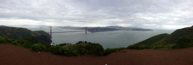 Golden Gate mit San Francisco