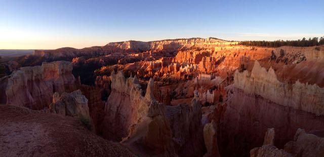 Bryce Canyon beim Sonnenaufgang