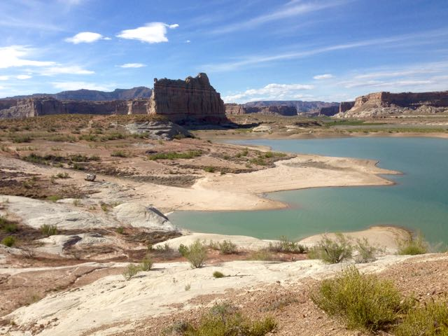 Camp am Lake Powell