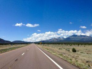 Richtung Flagstaff