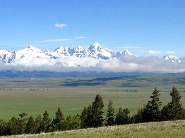 Teton-Gebirge